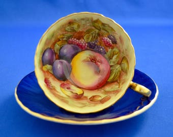 Aynsley Fruit Cup and Saucer