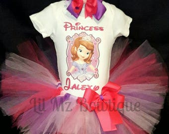 sofia Tutu, sofia dress, sofia Tutu dress, sofia birthday dress, sofia birthday, sofia shirt, sofia birthday outfit, Sofia the first