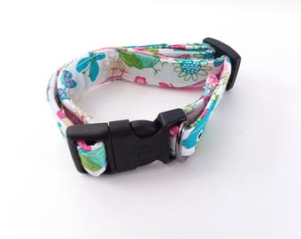 Small Dog Collar | Owl Print Dog Collar for Small Dogs | Dog Collar | Collar for Small Dogs | Female Dog Collar |