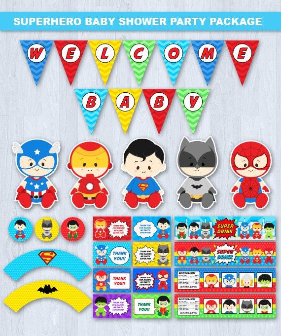 Superhero Baby Shower Invitation, Super Hero Baby Shower Invitation, Super Baby  Shower Invitation, Superhero Invitation Baby Shower