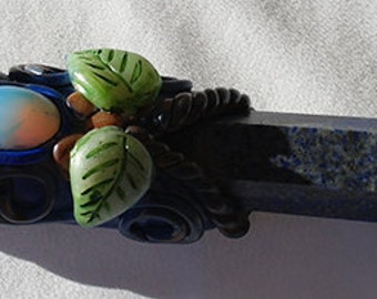Lapis Lazuli, Opalite, Citrine Healing Wand                                                                                       000782
