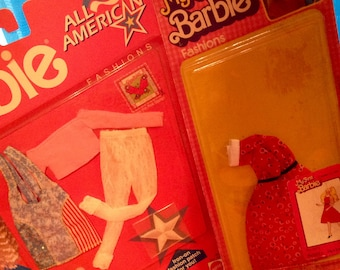 Barbie Outfits - Vintage in ORIGINAL PACKAGE !