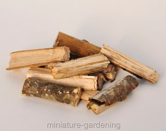 Firewood for the Fairies for Miniature Garden, Fairy Garden