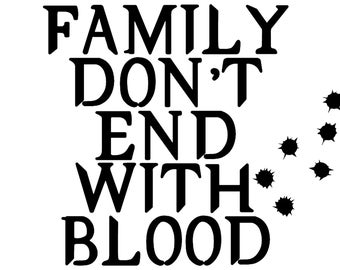 Supernatural: Family Don't End with Blood