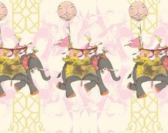 Tina Givens Elephant Run PWTG97 Cotton Candy - Free Spirit