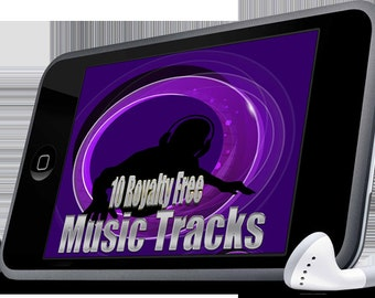 Royalty Free Stock Music, 35 tracks, for your own video and voice projects, MP3 ZIP file delivery