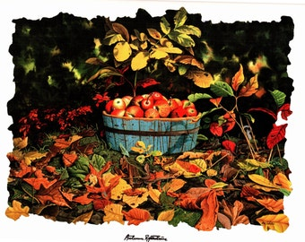 Autumn Reflections painted by Bob Timberlake for the book Somewhere in Time