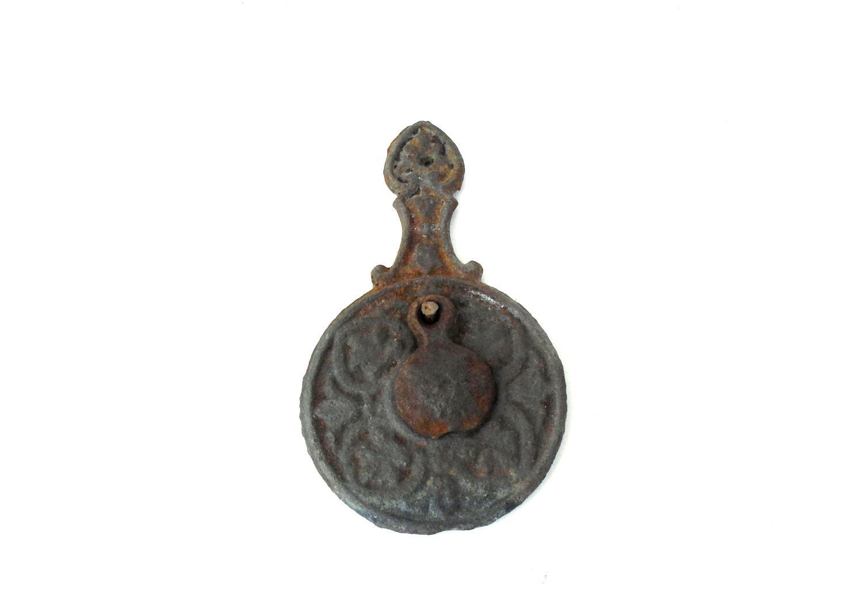 Antique peephole antique door viewer metal door hole antique metal 19th century peephole - Antique peephole ...