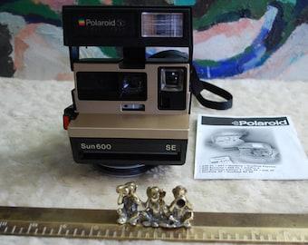 Polaroid 50th Aniversary Sun 600 Instant camera!
