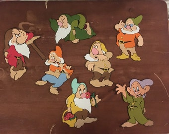 Seven Dwarfs set of 7