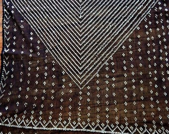 Assuit, Black Shawl, Wrap, Belly Dance, Egyptian Revival, Tribal Tribal Fusion