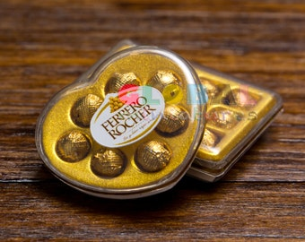 Dollhouse Miniatures Box of Chocolate Ball