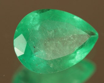 1.131 Ct COLUMBIAN EMERALD - Oil Only!
