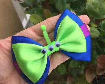 Aliens inspired hairbow