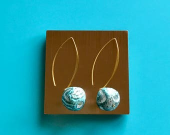 Summer Waves Earrings