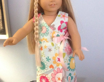 "SALE!!!  18"" american girl doll maxi dress with free shipping"