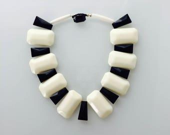 Roxanne Vintage Lucite Statement Collar