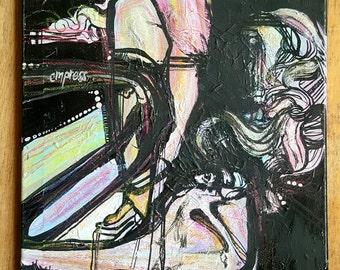 Empress - Original Artwork - Mixed Media on 16x20 Canvas