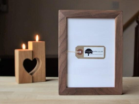 5x7 walnut frame wood picture frame for photos 5x7 custom. Black Bedroom Furniture Sets. Home Design Ideas
