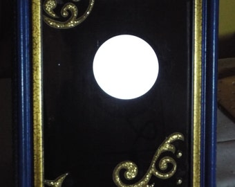 Blue/Gold scrying mirror