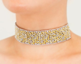 Lara Heems Flawless Choker / Limited Edition / Yellow
