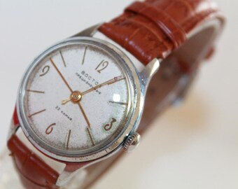 "Vintage mechanical watch Wostok Volna Precizionnyj"" 22 jewels russian chronometer. Vostok-Volna 1970s.Watch Workong and Perfect Condition!!"