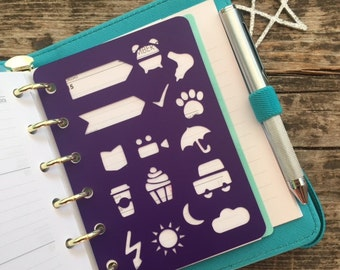Stencil POCKET SIZE bullet journal