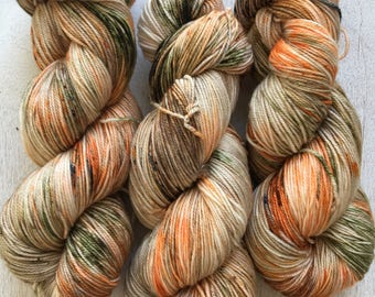 Sweet Sock - First Day of Spring - hand dyed yarn, fingering, mcn, canadian