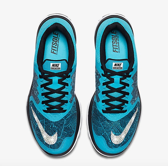 New blinged nikes Women s Nike FS Lite Run 3 by SimplyCustomizAble chic 582da6e5a