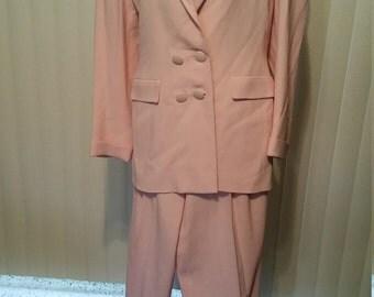 Emmanuelle Khanh Paris Suit. Size 8