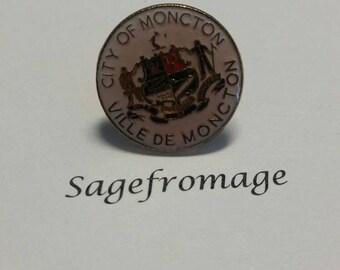 City of Moncton pin