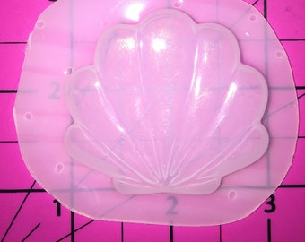 Kawaii RSH/KMS exclusive Seashell with Pearl - Flexible Plastic Resin Mold