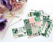Palm Beach Horizontal Weekly Kit-- Matte Planner Stickers