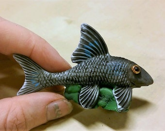 Resin fish model for games, dioramas or decoration