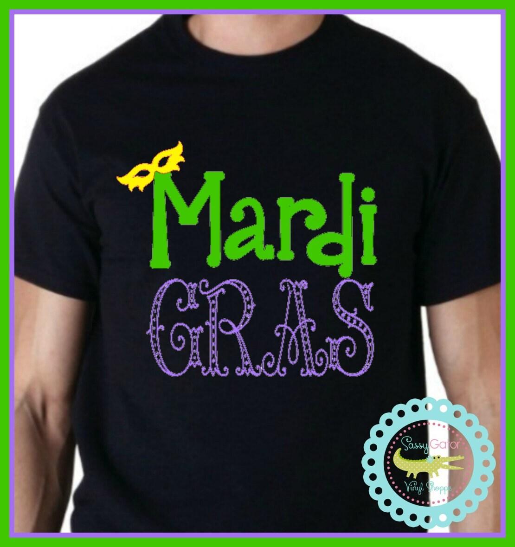 Mardi Gras Party Shirt New Orleans Parade Shirt Festival