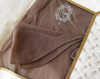 Vintage 1960's Unused Rayne Fully Fashioned Seamed Nylon Stockings- Size 9