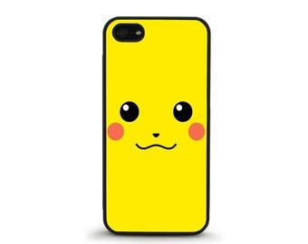 Pikachu Phone Case- iPhone 4/4s, 5/5S, 5C, 5SE, 6/6 plus, 7/7 Plus, Samsung Galaxy S4, S5, S6/edge/edge plus, S7/S7E
