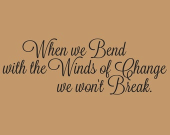 Winds of Change Wall Decal