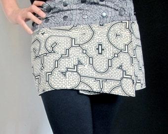 Skirt wallet Shipibo