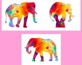 Baby room Decor, baby room art, elephant print, Safari nursery set, nursery animal, baby nursery, watercolor, elephant nursery Decor