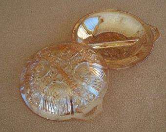 Vintage Glass Serving Dishes; Vintage Candy Dishes; Vintage Ashtrays