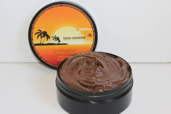 Coffee scrub 100% arabica and organic oils, coconut, shea butter, macadamia, ilang-ilang, hand made product by Cocos Cosmetics TM - Israel