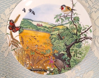 Wedgewood - The Village in the Valley Plate by Colin Newman, Bone China, Limited Edition