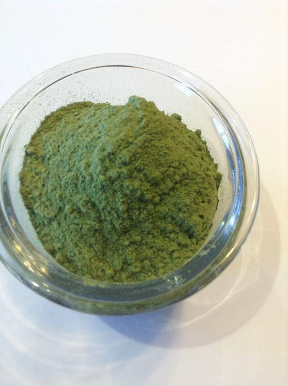 6-10 oz Organic Alfalfa Powder.  Gluten Free,  Vegan freindly,No sulfites no soy