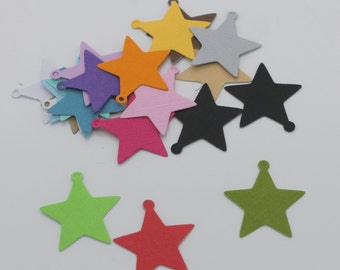Charm star Christmas: set of die - cut cut-outs