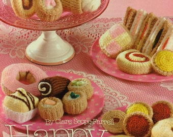 Knitted Cakes And Biscuits Knitting Pattern
