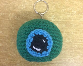 Made to Order: Jacksepticeye Keyring, YouTuber keyring, YouTube key chain, Septiceye sam plushie
