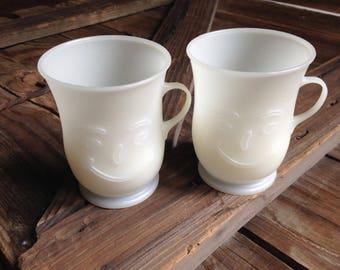vintage Kool Aid mugs/retro plastic Kool Aid cups