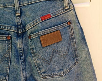 "Vintage Wrangler High Waisted ""Mom"" Jeans"