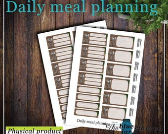 Daily meal planning